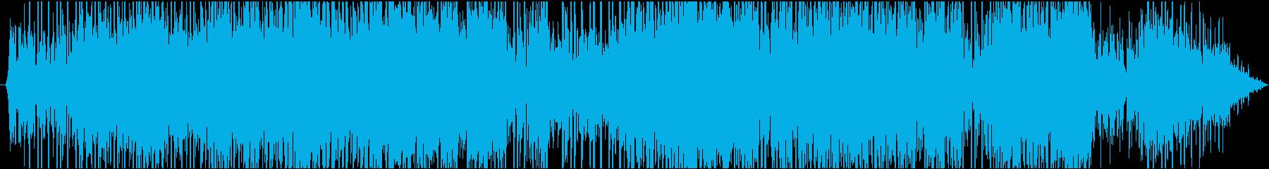 勢いがインパクトあるメロディーの再生済みの波形