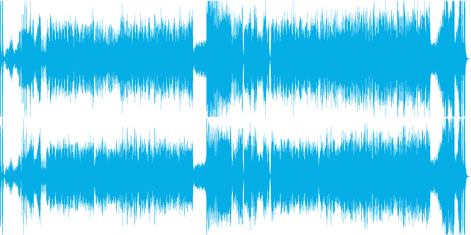 オーケストラ・絢爛なワルツの再生済みの波形