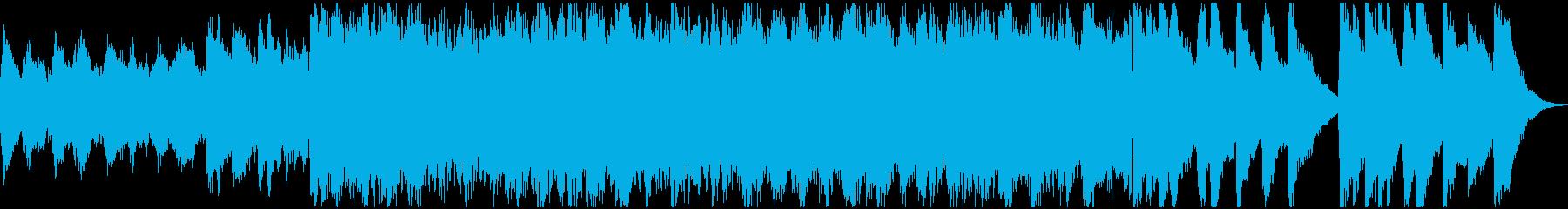 現代的 交響曲 可愛い 子ども エ...の再生済みの波形