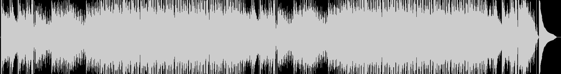 速いピアノジャズの未再生の波形
