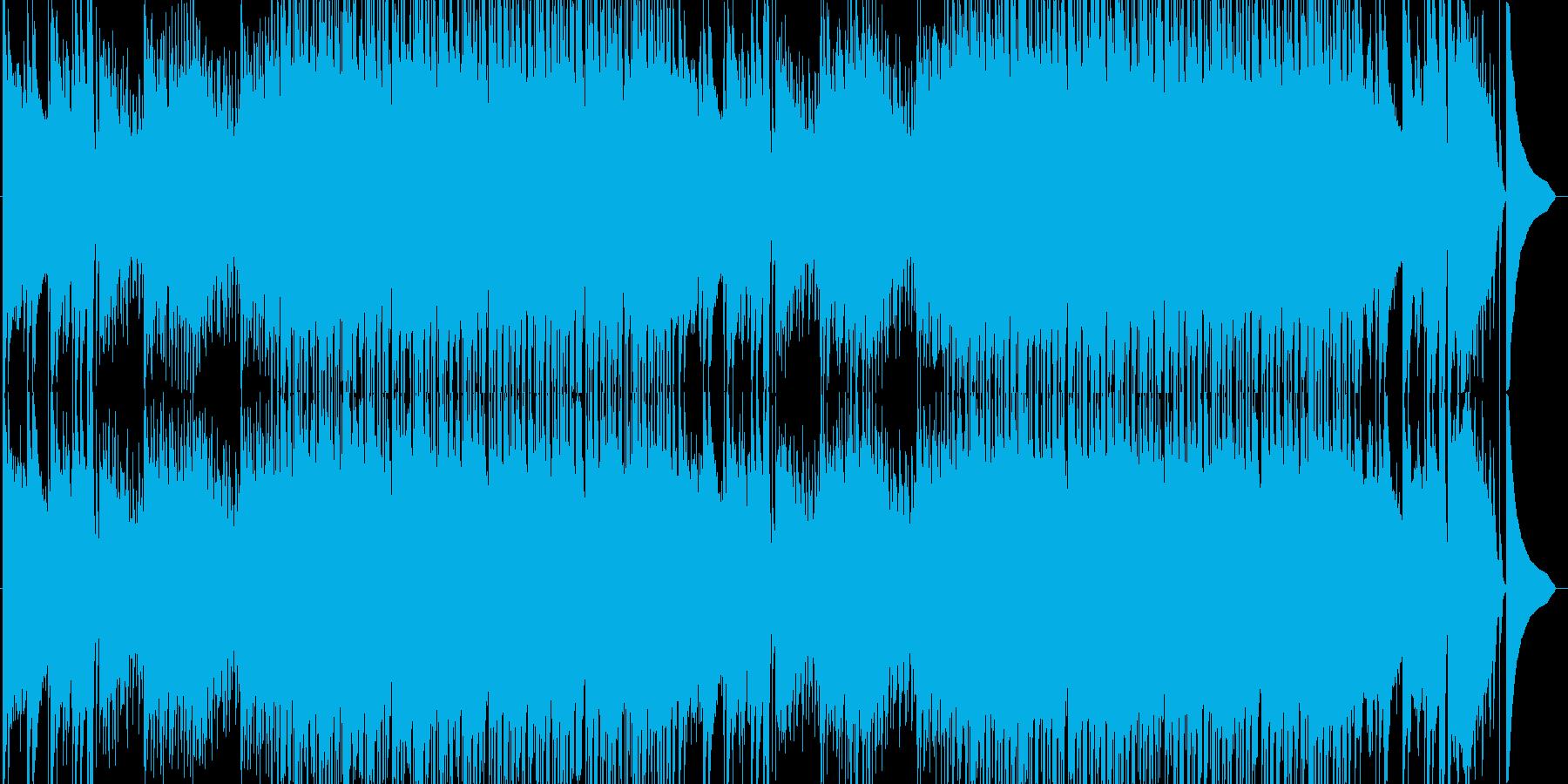 速いピアノジャズの再生済みの波形