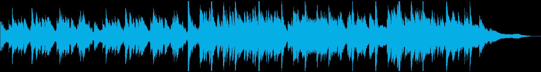 ゆったりとしたアコーディオンジャズの再生済みの波形