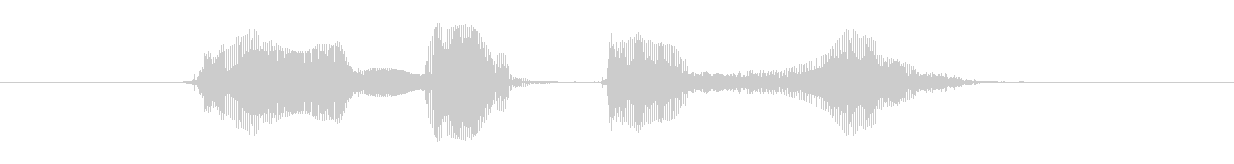 You did your best!'s unreproduced waveform