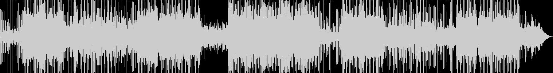 のんびりムードのファンタジー系EDMの未再生の波形