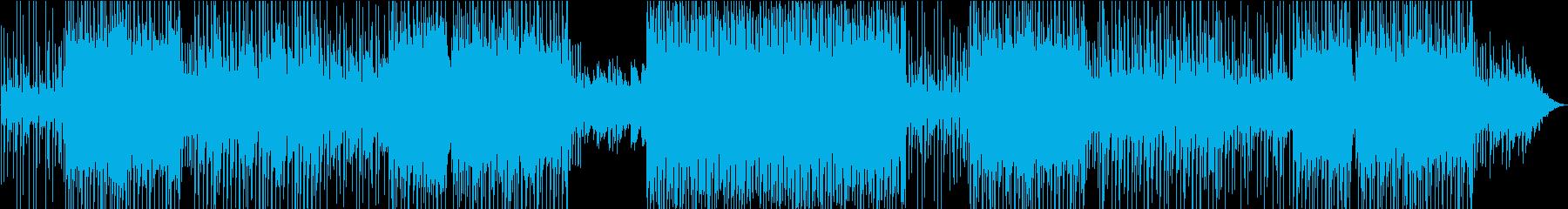 のんびりムードのファンタジー系EDMの再生済みの波形