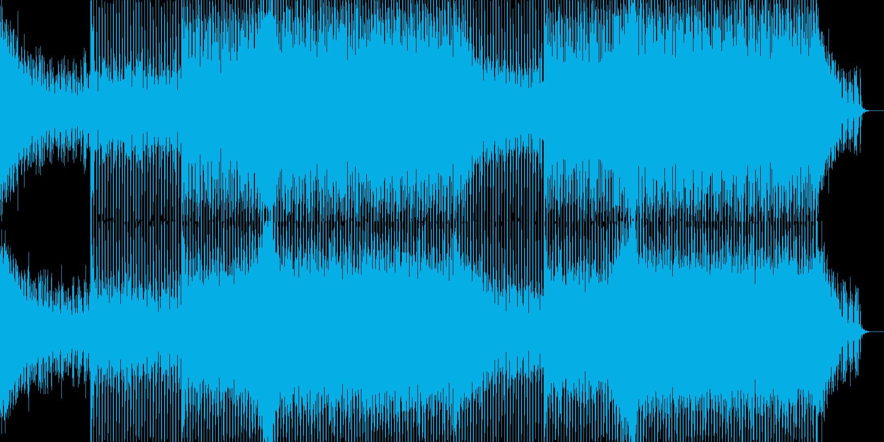 EDMクラブ系ダンスミュージック-100の再生済みの波形