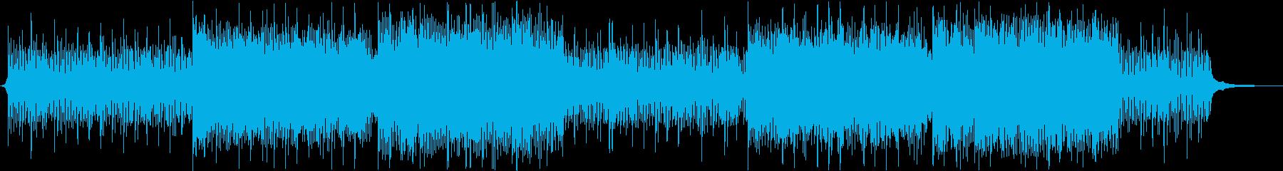 クールでおしゃれなコポレート曲の再生済みの波形