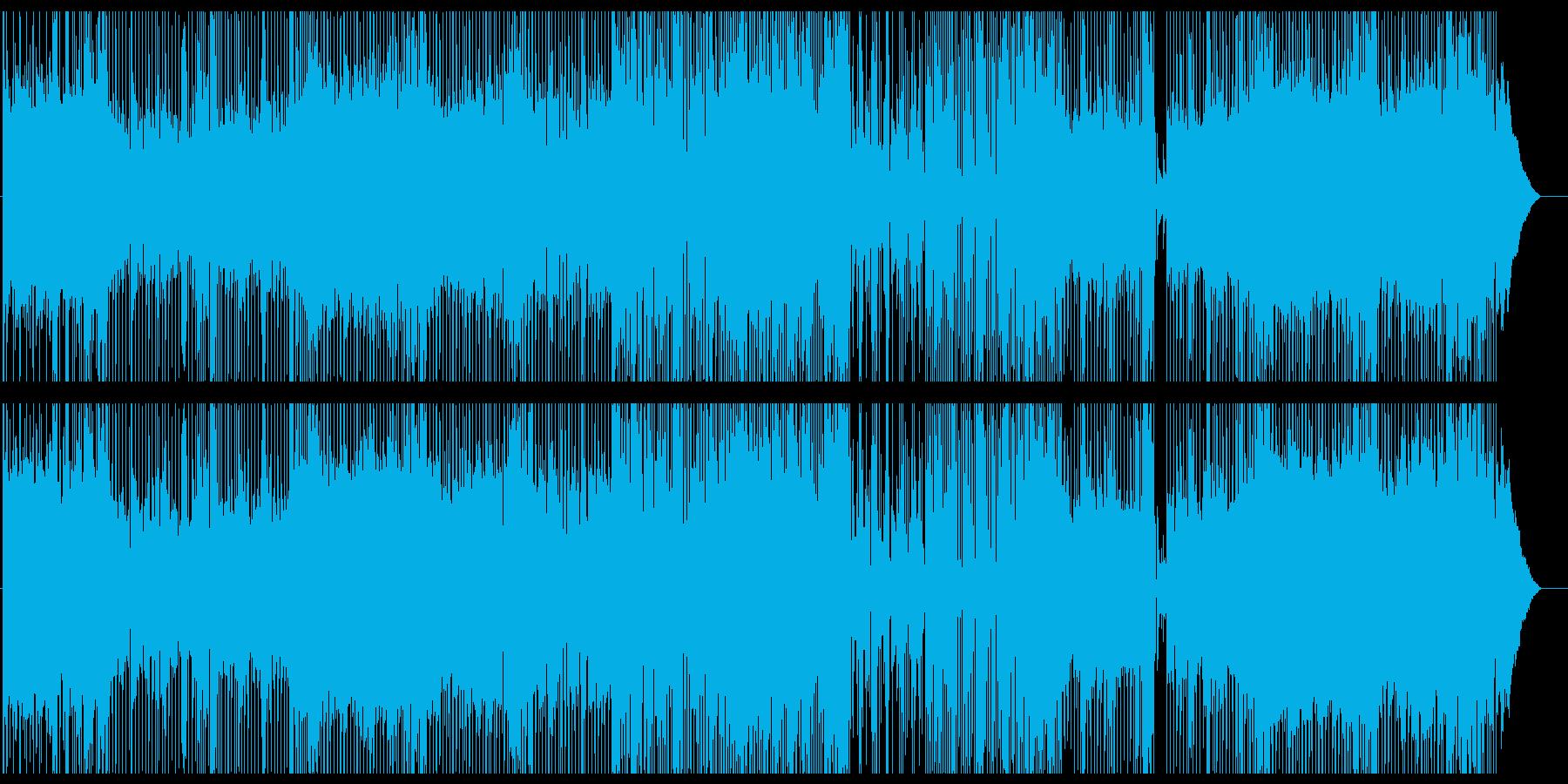 宇宙空間とミラーボールなラウンジジャズの再生済みの波形