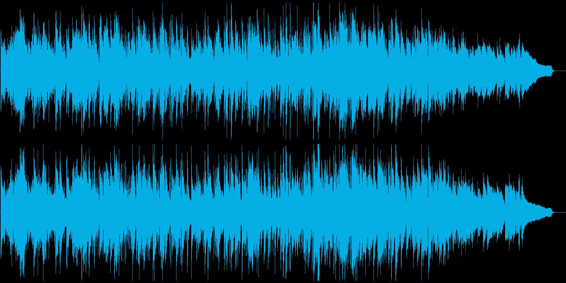 アルトサックス生演奏のボサノバ・ジャズの再生済みの波形