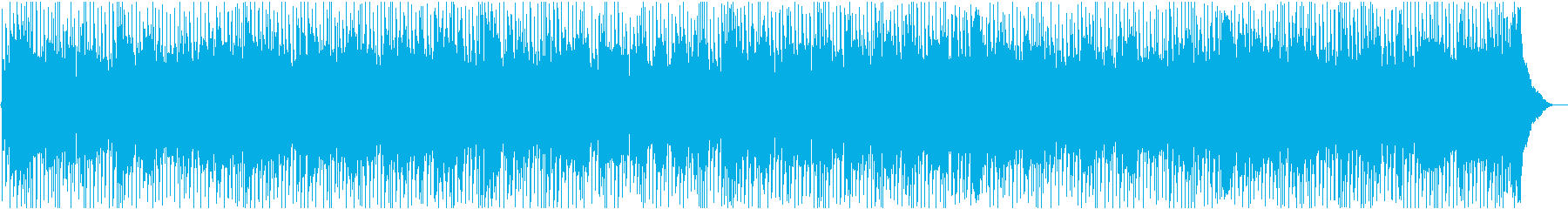 お洒落でかっこいい疾走感のカントリーの再生済みの波形