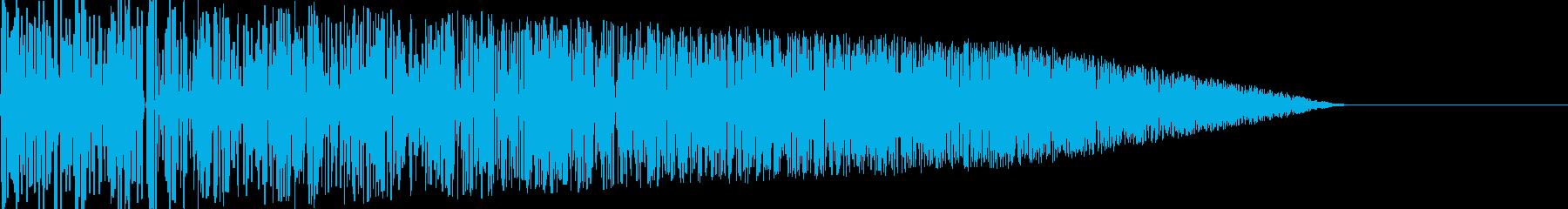 バシ!(攻撃/格闘/アタック/ファミコンの再生済みの波形