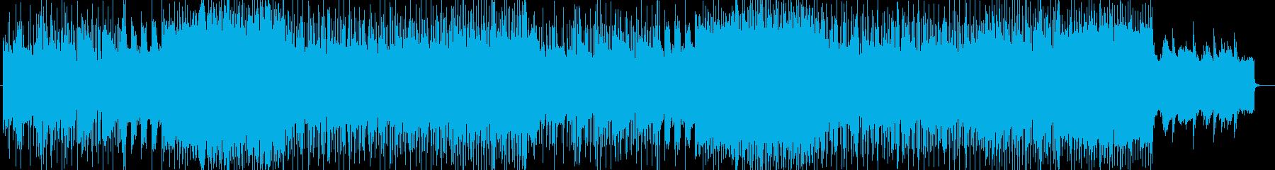 「HR/HM」「DARK」BGM132の再生済みの波形