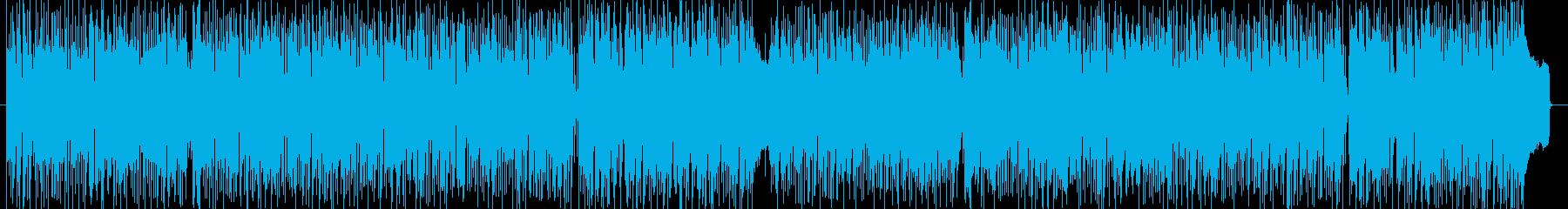 おしゃれなリラックス系ボサノバの再生済みの波形