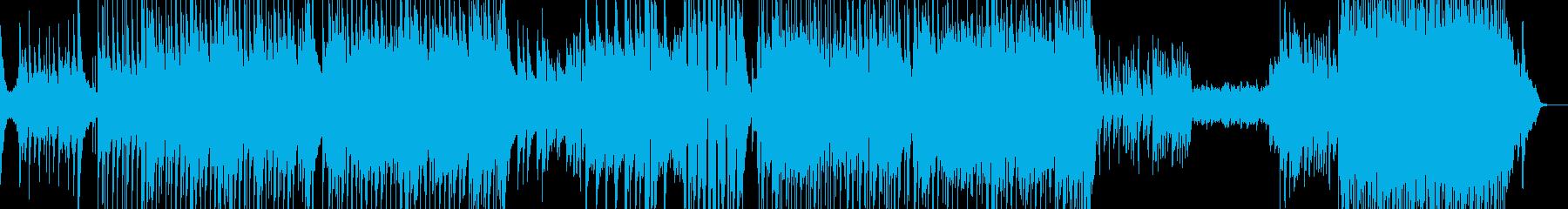 ラストが劇的・90年代風バラード 長尺★の再生済みの波形