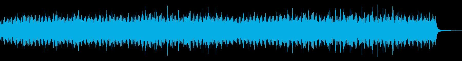 ゆったりとした情緒的ソロピアノの再生済みの波形