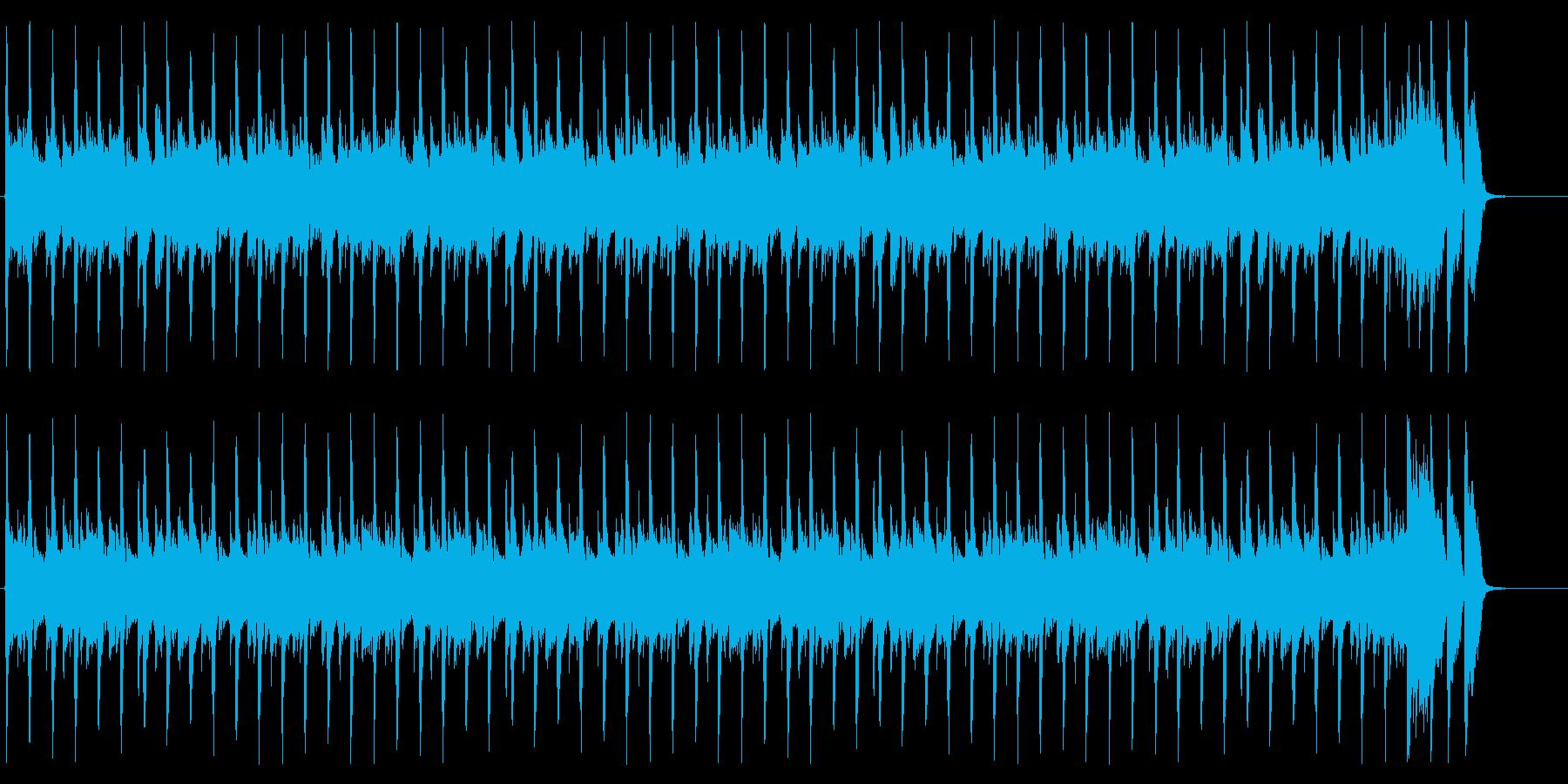 お洒落なハウス-ショートループの再生済みの波形