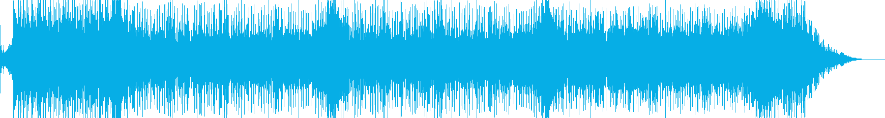 戦闘をイメージして作った曲ですの再生済みの波形