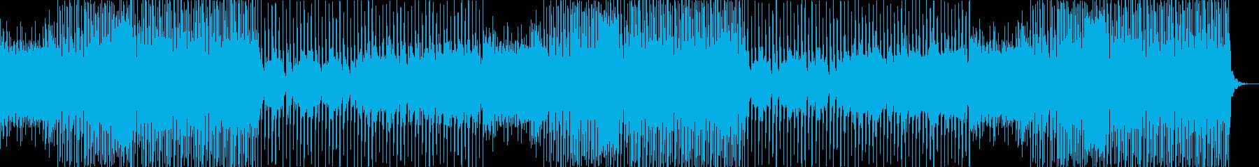 爽やかスポーツEDM・明るい楽しい疾走感の再生済みの波形