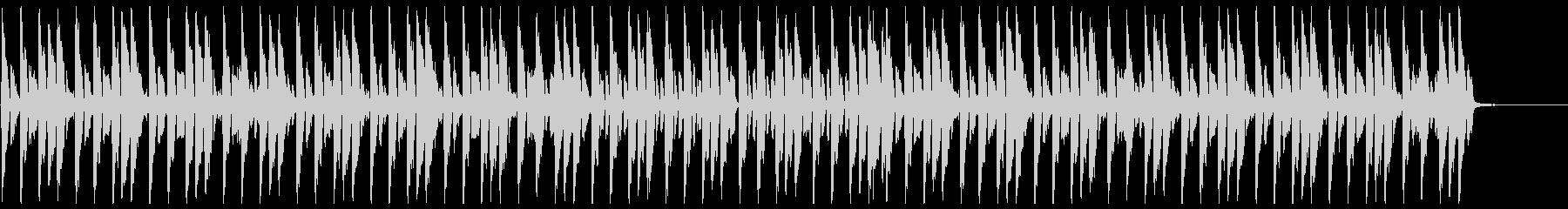 リコーダーアンサンブルによる可愛いマーチの未再生の波形