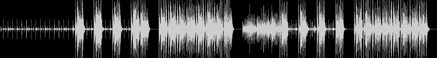 面白い映画オーケストラピチカート音楽の未再生の波形