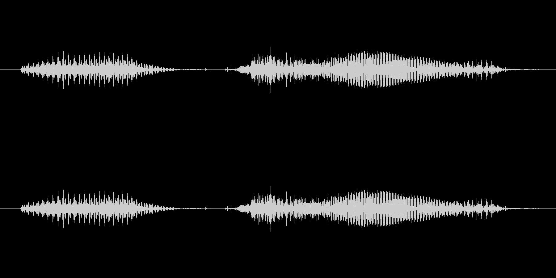 1(いち)-明るいトーンお兄さん風の未再生の波形