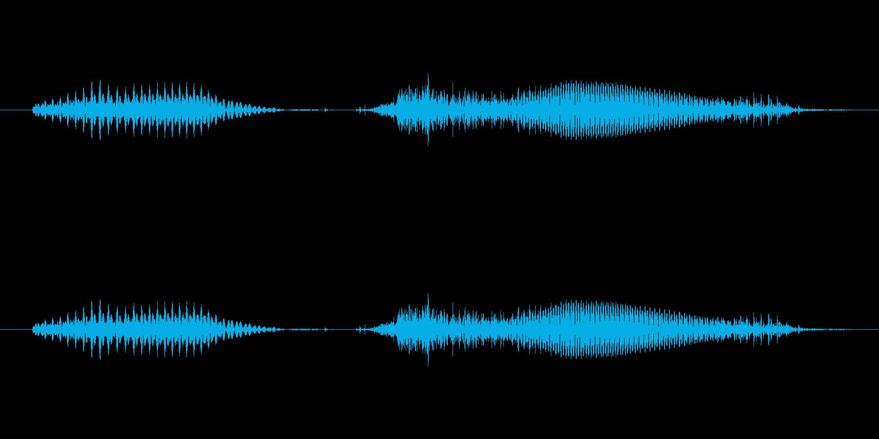 1(いち)-明るいトーンお兄さん風の再生済みの波形