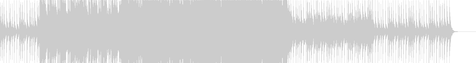 爽やか、軽快なトロピカルハウスの未再生の波形