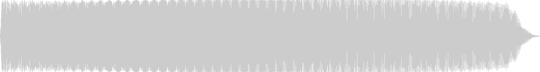 UFO船内音(重低音のうねり音)の未再生の波形