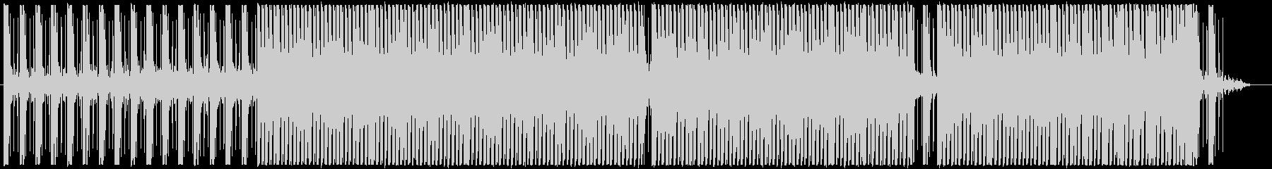 Techno01・怪しい・暗い・急ぐの未再生の波形