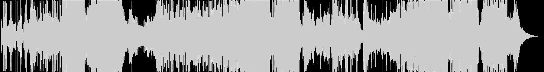 映像用静かなピアノのFutureBassの未再生の波形