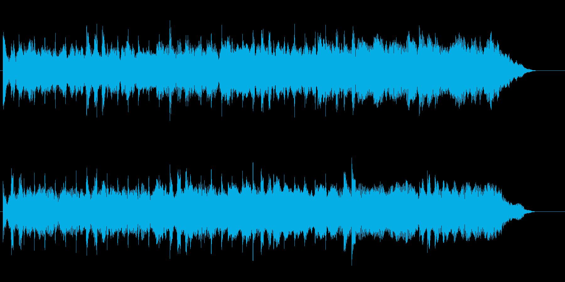 未来的、最先端サウンド♪の再生済みの波形