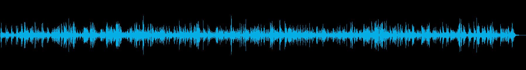 贅沢な大人の癒しジャズBGMの再生済みの波形