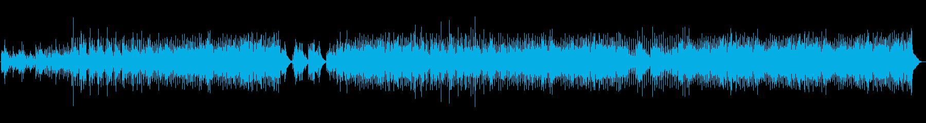 マンドリン、アコースティックギター...の再生済みの波形