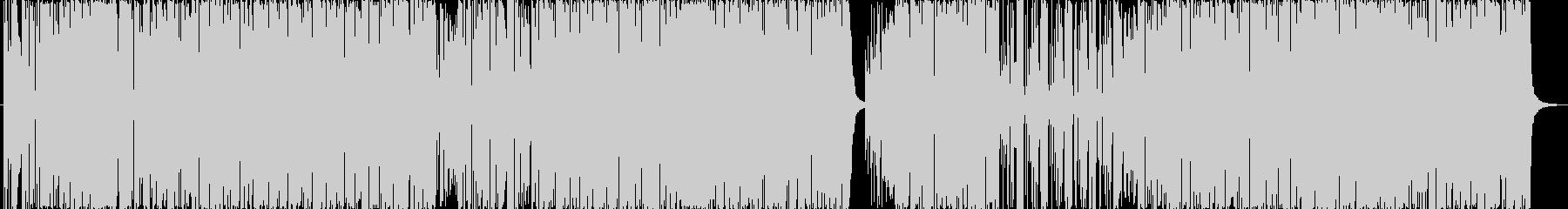 ファンク。レゲエ。の未再生の波形