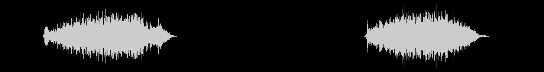 トラックパッド02-7(スワイプ)の未再生の波形