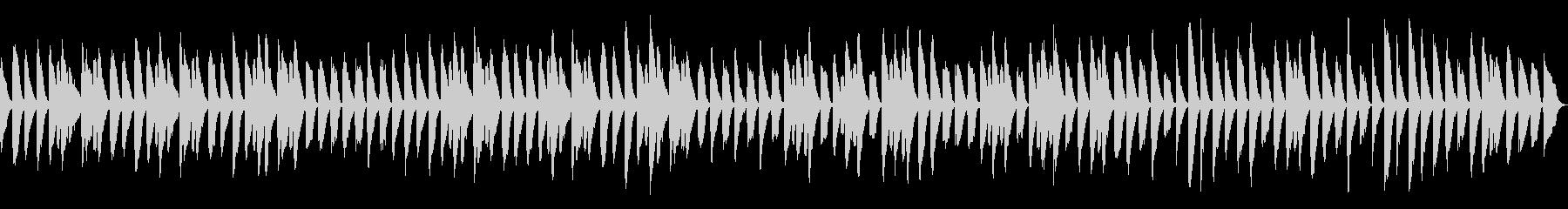 木琴とピアノのほのぼのした日常BGMの未再生の波形