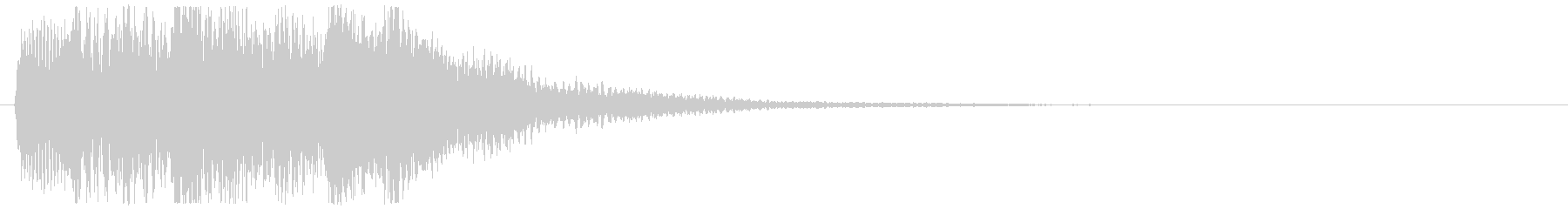 ピアノ ミステリアス上昇音 不安 不穏の未再生の波形