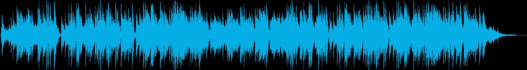 マンドリンのイタリア南欧系ジャズ・伴奏版の再生済みの波形