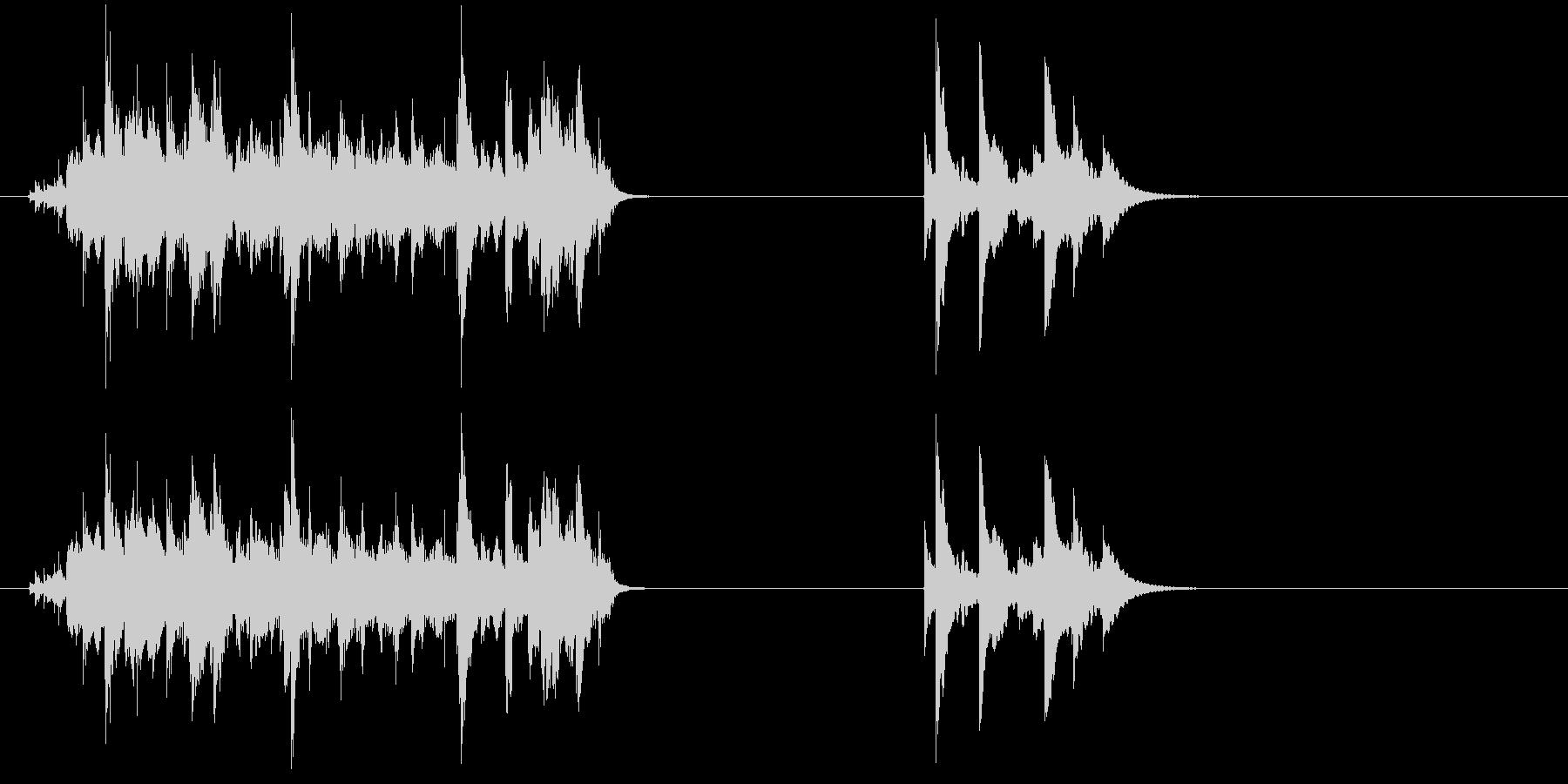 Jumbled Bells-2つの...の未再生の波形