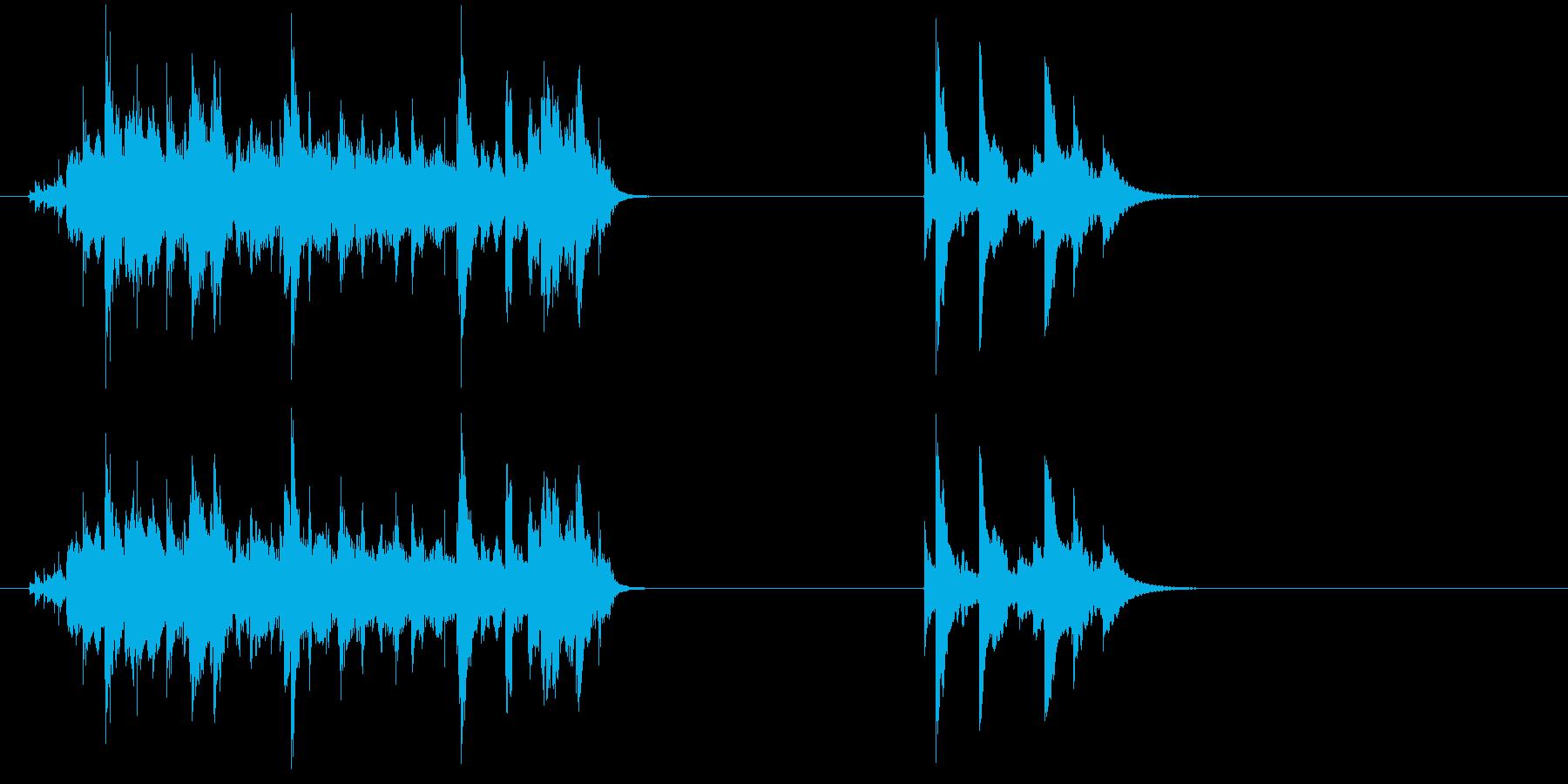 Jumbled Bells-2つの...の再生済みの波形