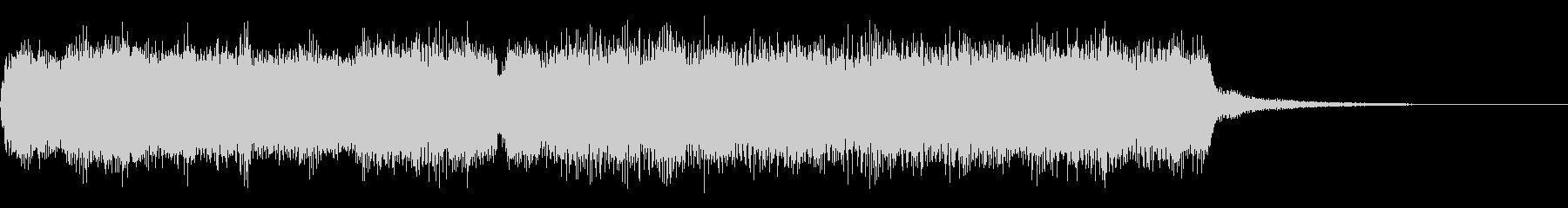 パイプオルガンの未再生の波形