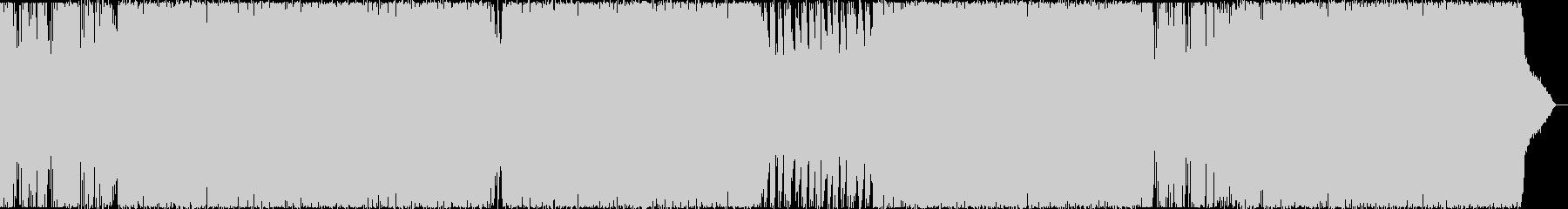 グルーヴスローファンク、オールディーズ。の未再生の波形