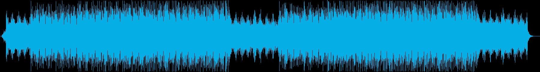 爽やかでポップなピアノのBGMの再生済みの波形