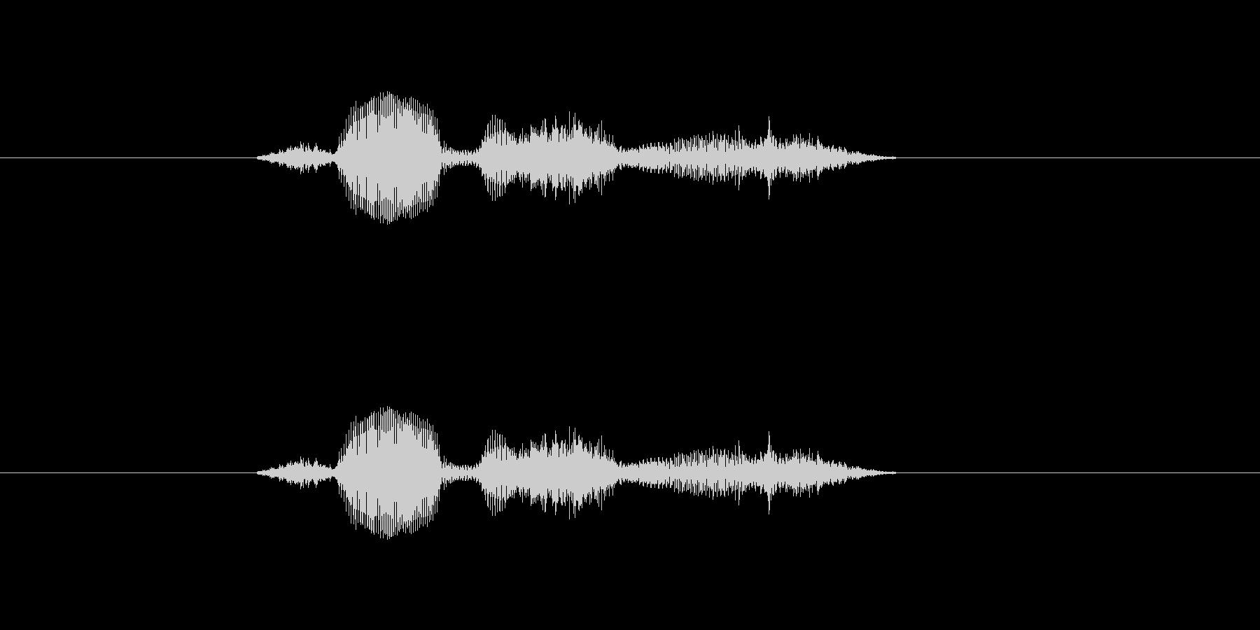 【システム】セーブします - 1の未再生の波形