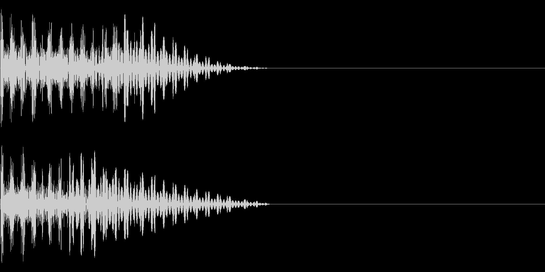 ドゥンの未再生の波形