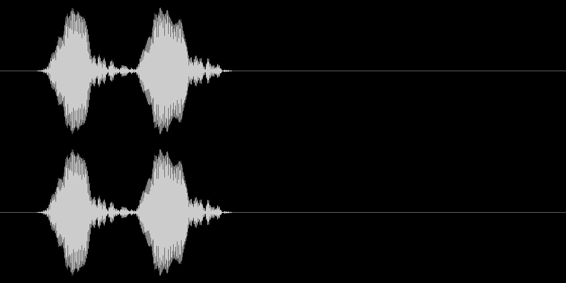 携帯電話 バイブレーション03-18(毛の未再生の波形