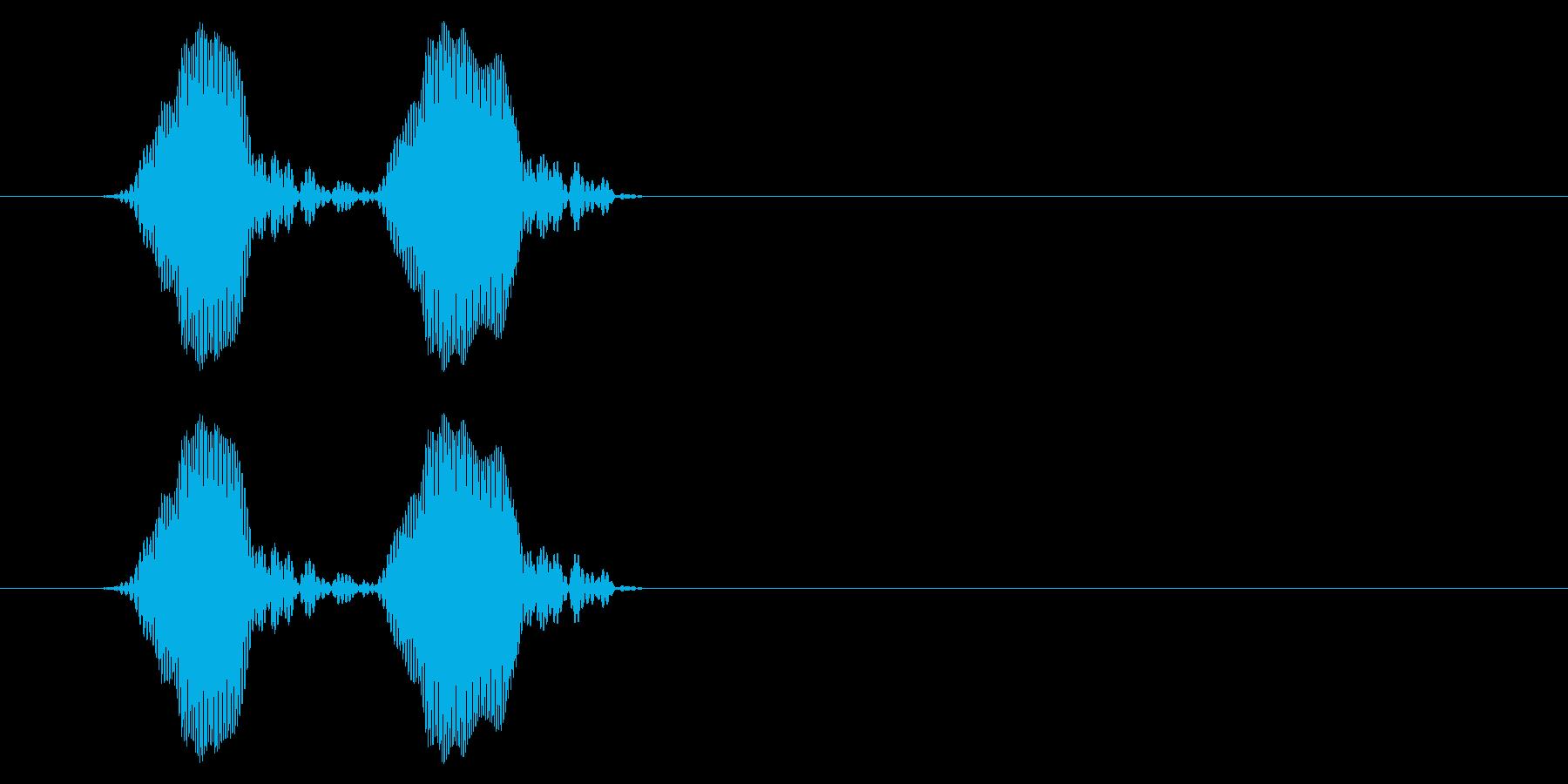 携帯電話 バイブレーション03-18(毛の再生済みの波形