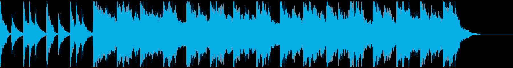勇壮クラップ&ストンプのロック/30秒の再生済みの波形