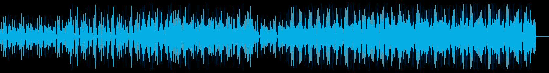 アコギが可愛いSurf music、夏の再生済みの波形
