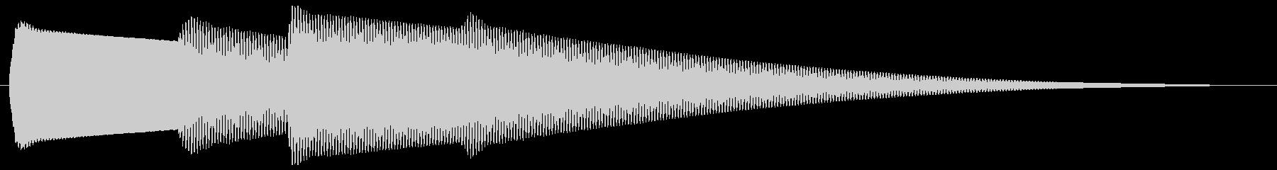 玄関チャイム ピンポピンポーン(2回)の未再生の波形
